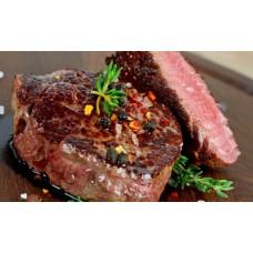 Rinderfilet vom Grill mit Beilage (Rosmarin Kartoffeln und Gemüsen)
