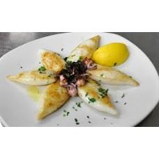 Baby Calamari vom Grill Kleine Portion