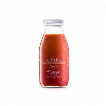 """""""La Rustica"""" Passata Di Pomodoro Classica 250 Gr. La Rustica ist ein """"Evergreen"""", ein echtes Tomatenpüree mit einem starken und vollmundigen Charakter für die perfekte Haftung auf die Nudeln."""
