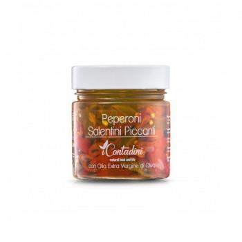 Peperoni salentini piccanti 230 gr